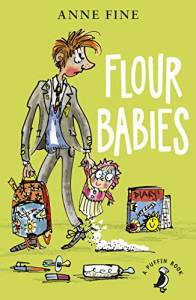 The cover of 'Flour babies'