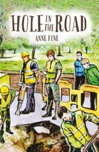 The cover of 'Hole in the Road'